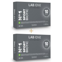 N°1 SportBiotic - Double Pack (2 x 30 capsules)